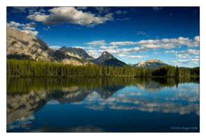 kananaskis reflections by strangelight