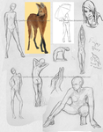 Figure sketch dump by Momilani