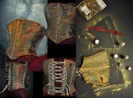Custom Fearie Corset WIP by KassandraLeigh