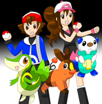 Pokemon Black and White by Cpr-Covet