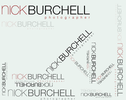 Nick Burchell photography logo by Flyinfrogg