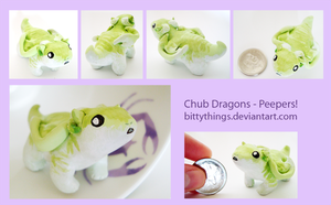 Chub Dragons - Peepers! - SOLD by Bittythings