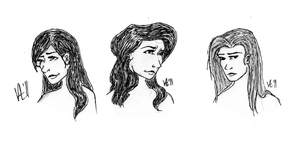 The Three Sisters Black by RedHandedJill44