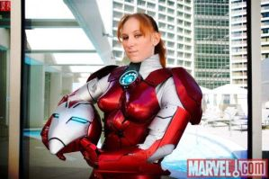 Pepper Potts as Rescue by Lady-Skywalker