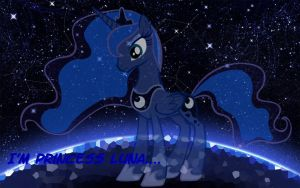 Princess Luna Wallpaper by CKittyKat98