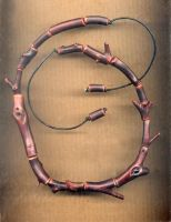Manzanita Bead Necklace by DonSimpson