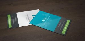 ACPA Business cards by 6mik-design