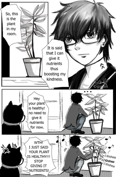 Persona 5: Boosting Kindness by giacbk