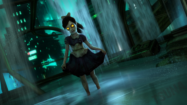 Bioshock - Little Sister by OTsunaO