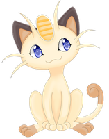 Meowth for the 151 pokemon challenge by MagicMoonBird