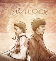 2 Sherlocks by VoydKessler