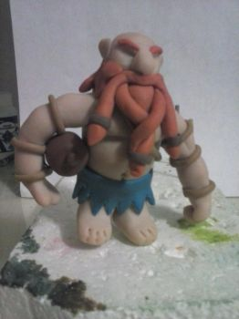 In process Gragas from LoL by juanviera22