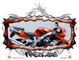kit cbr CBR 900RR by Phellyfees