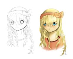 This was Supposed to be Hair Practice by AdenChan