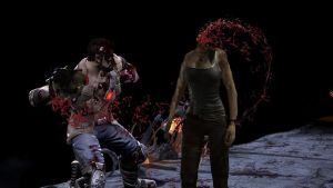 Eat your Heart Fatality on Lara by ManHunterHD