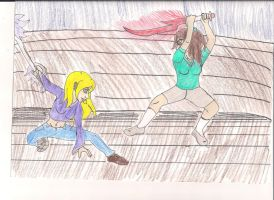 Sparring pic 2 by Bella-Who-1