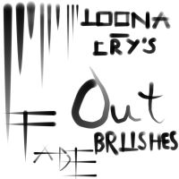 Fade Out Brushes by Loona-Cry