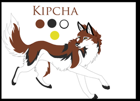 TS comic: Ref sheet Kipcha by fenderbender368