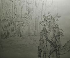A Bit of Tribal by timid-wolf