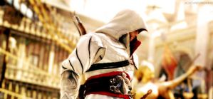 Ezio Auditore - Brotherhood by KynnBF