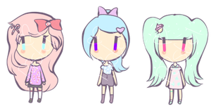Cute Girl Adopts by PastelDelight