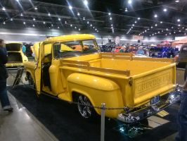 55' Yellow Chevy PickUp C by Eagle07