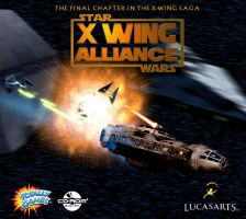 X-Wing Alliance Jewel Case by hangarbay94