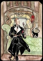 Heydrich tarot: Queen of wands by hello-heydi