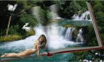 Krka waterfalls-Krka vizeses by ladyjudina