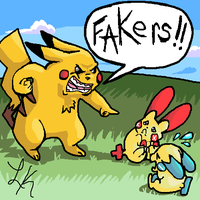 FAKERS by razorcat