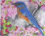 bluebird for Draw Along by jv67
