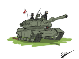 OMG NINJAS WITH TANKS by Csp499