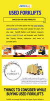 Jamco USA for Used Forklifts by Usedforklift