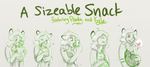 Sizeable Snack Sketch Comic by VoraciousPanda
