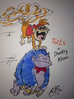 Dankey Kang and Toils by kevinbolk
