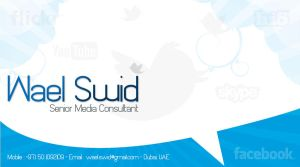 My SM business card by waelswid