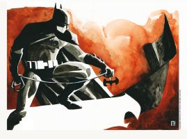 Batman - Comic Con 2012 and Print by Geoffo-B