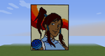 Korra from Avatar: Legend of Korra - Minecraft by LadyZenora