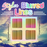 Styles Blurred Lines by MaaruuEditions