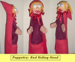 Puppetry Red Riding Hood by Hauptsturmfuhrer
