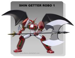 Shin Getter 1 Act 2 by praywibowo