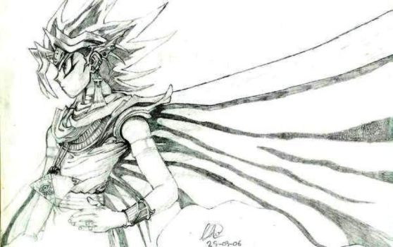 Atem yugi of yugioh by Fantasy-Girl19