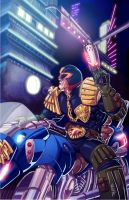 Judge Dredd by Fpeniche