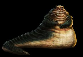 Nemro the Hutt by killersquirrelz