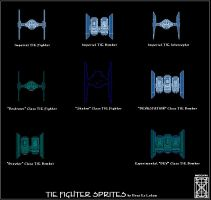 TIE Fighter Sprites-Reworked by Deus-Ex-Letum