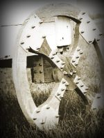 Antiqued Wheel by carbyville