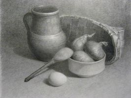 Graphic  still life by Lady-DreamArt