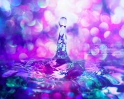 Colourful drop by ziggy90lisa