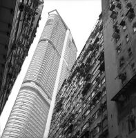 Hong Kong, High Contrast by panuraj