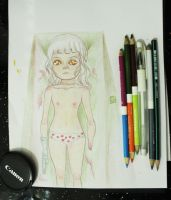color pencils by imaSweetserialKiller